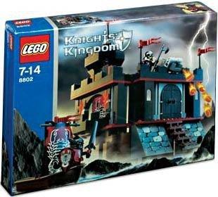 [해외] LEGO KNIGHTS KINGDOM SET #8802 DARK FORTRESS LANDING