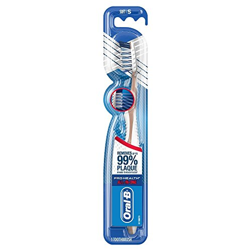 Oral-B CrossAction Pro-Health Toothbrush, Regular Head, Soft 1 ea (Pack of 2)