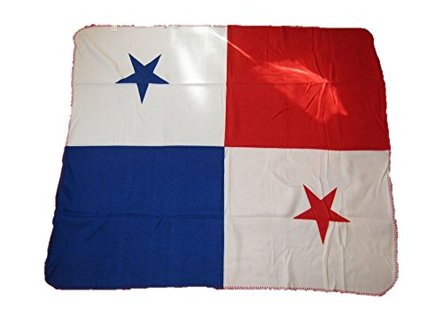 Panama Flag 50x60 Polar Fleece Blanket Throw