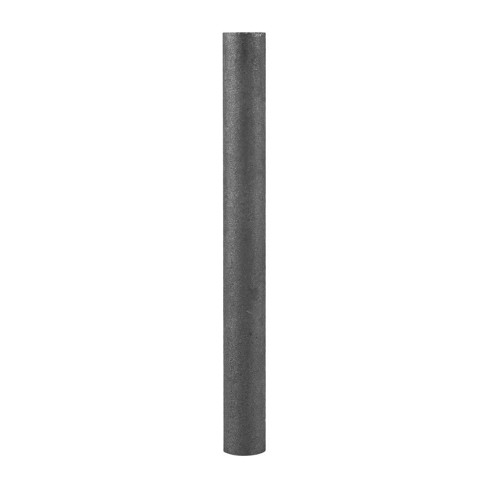 Graphite Rod Graphite Electrode Cylinder Rod Length 100mm Diameter 10mm 5Pcs Black Color 99.9/%