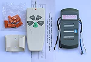 Amazon Com Universal Ceiling Fan Remote Control Kit Home