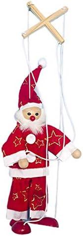 KinshopS Decoración navideña Línea de Tela navideña Marioneta Línea navideña Muñecas Juguetes para niños Festival Decoración