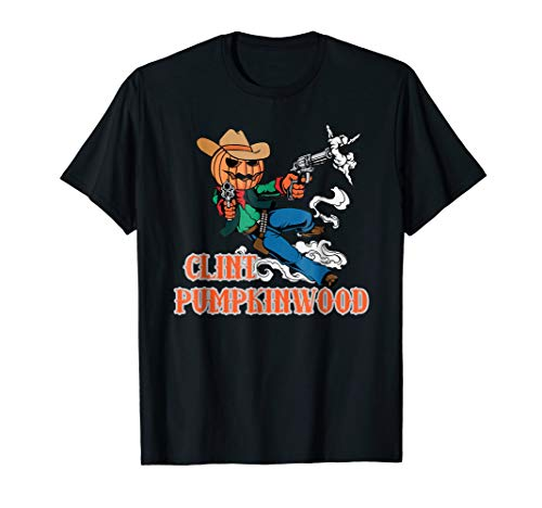 Clint Pumpkinwood Halloween Costume T-shirt
