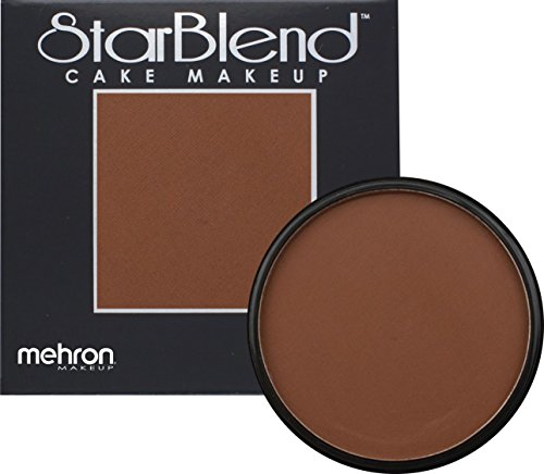 Mehron Makeup StarBlend Cake (2oz) - Light Brown Ebony