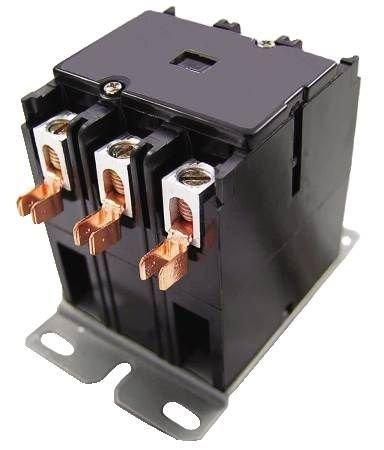 Packard C330B 3 Pole 30 Amp Contactor 120 Volt Coil ()