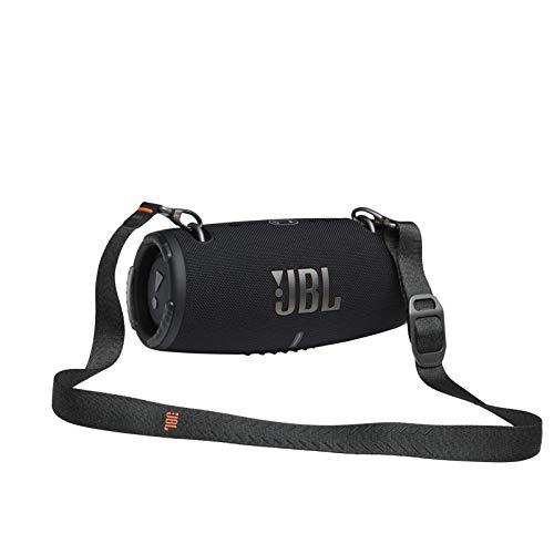 JBL Xtreme 3 draadloze, draagbare waterdichte luidspreker met Bluetooth, met oplaadkabel, zwart