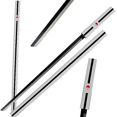 Avias Knife Supply 40 Inch Uchiha Sasuke Kusanagi Sword Grass Cutter Sword (White Kusanagi) ()
