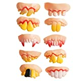 Best Big Mouth Toys Gags - Funny Rotten Teeth Vampire Denture Teeth Toy 20pcs Review