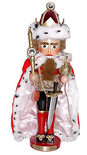 Retired 1996 Signed Late Herr Christian Steinbach *King Wenceslaus* Nutcracker 1st in Collector's Club Series
