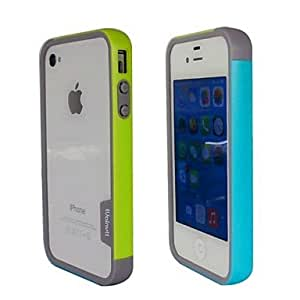 YULIN Marco Parachoques - Color Mixto - para iPhone 4/4S/iPhone 4 TPU )