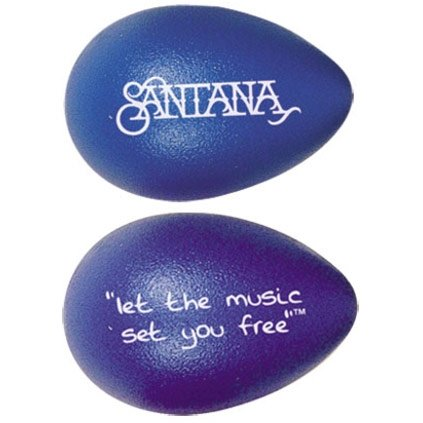 Latin Percussion LPR003-BL Santana Design Rhythmix Egg Shaker - Blueberry ()