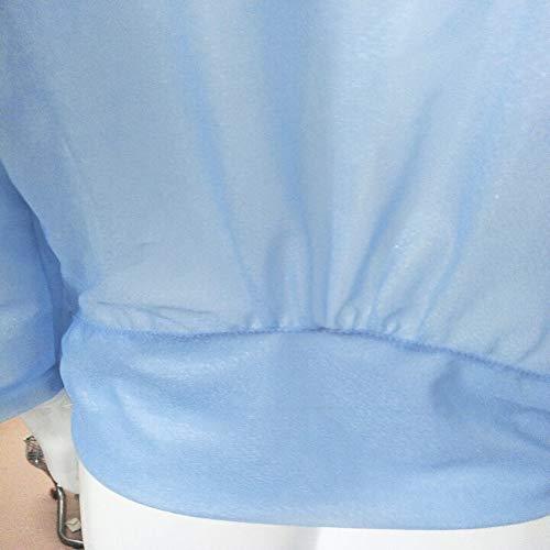 Mujer Suéter Cárdigan,Sonnena ❤ Cárdigan de protección solar con gasa para mujer Camisa de blusa Tops generales Abrigos: Amazon.es: Hogar