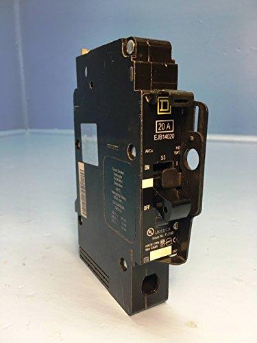992120 Square D SQD Circuit Breaker 1 Pole 20 Amp 125V