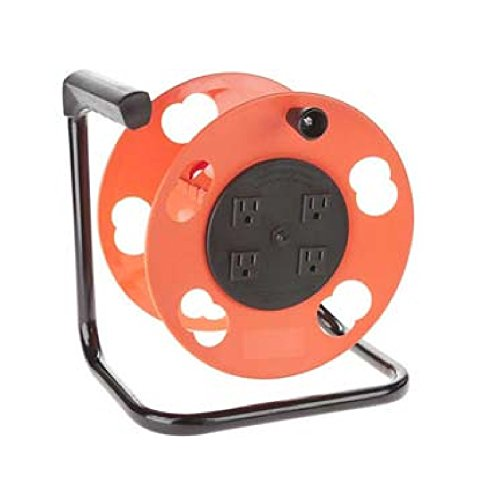 Bayco Products K-2000 Crank Cord Reel With Breaker
