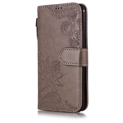 Price comparison product image for iPhone Xs Max Case, iPhone Xs/Xr Case 2018 PU Leather Flip Wallet Case with Card Slots Kickstand Magnetic Case (iPhone Xs Max, 10)