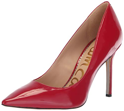 Sam Edelman Women's Hazel Pump, Dark Cherry Patent, 7 M - Toe Red Pointed Heels Patent