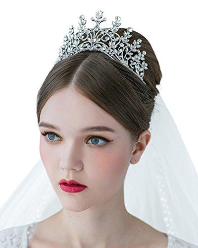 SWEETV Crystal Rhinestone Wedding Accessories