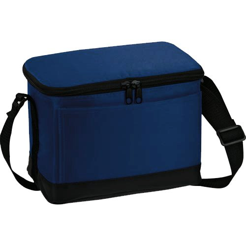 """Insulated Lunch Cooler Bag with 8""""x 6"""" Reusable Ice Mat Included (Royal Blue)"""