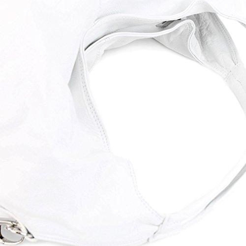Italy femme Made à pour l'épaule Weiß Sac à porter qdzwtxzn4