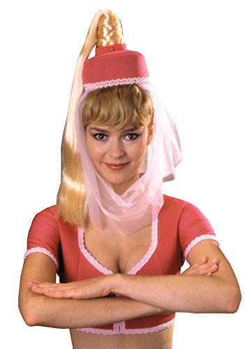 Jeannie Headpiece with Hair Costume Accessory -
