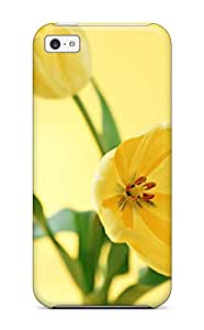 Oscar M. Gilbert's Shop Hot 6492194K21157089 New Style Hard Case Cover For Iphone 5c- Yellow Flowers