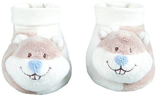 Noukies SA W & H Charlie Chaussons Funny Beige