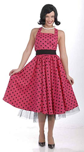 Forum Novelties Women's Flirting with The 50's Polka Dot Cutie, Red, Medium/Large]()