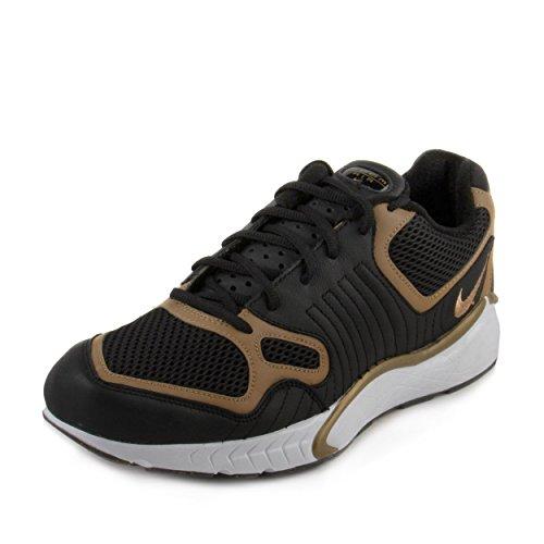 Nike Mens Zoom Talaria 16 Zwart / Metallic Goud Leer