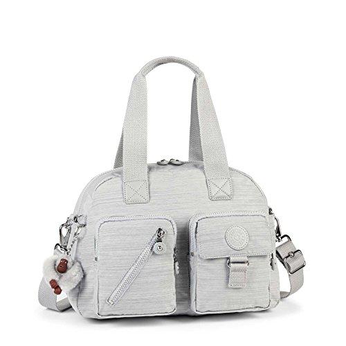 Kipling Defea, Women's Bag, Grau (Dazz Grey), One Size