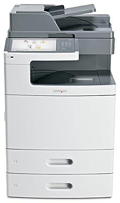 Lexmark 47B1001 (X792DTE) Color Laser Printer with Scanner, Copier & Fax