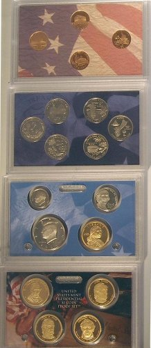 2009 S US Mint Proof Set Original Government