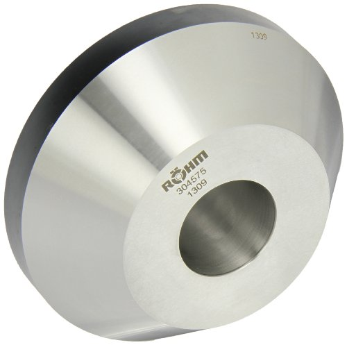 Röhm 304575 Type 608-20 Centering Insert AZ with 75 Degree Taper for Morse Taper 6, Standard Version, Size 1, 150mm Body Diameter, 54mm Length by Röhm
