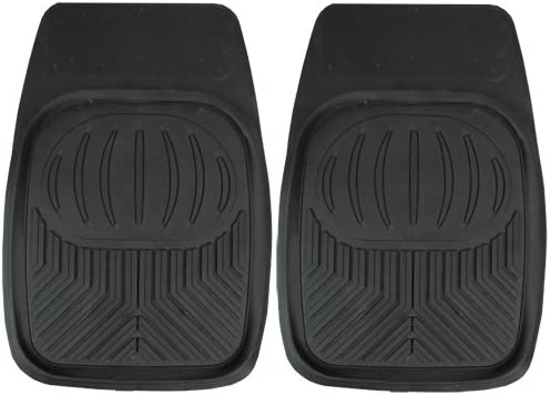 50 x 70 cm Set of 2 JVL Ultimat Heavy Duty Lipped Universal Car Mat Floor Trays
