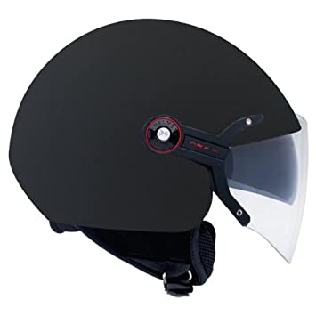 Nexx X60 visión Flex negro suave Open Face casco de moto