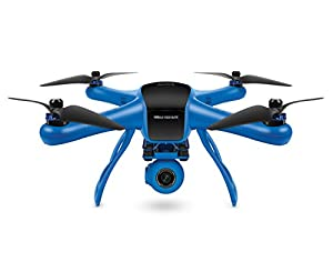 World Tech Toys Elite Raptor HD Gimbal Video Camera 2.4GHz 4.5 Channel RC Quadcopter, Blue/Black, 12.5 x 12.5 x 7.25 from World Tech Toys