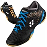 Yonex SHB03LCWEX Badminton Shoess, 9 UK, Black/Orange