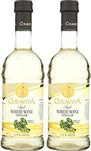Colavita Aged White Wine Vinegar, Special, 34 Ounce