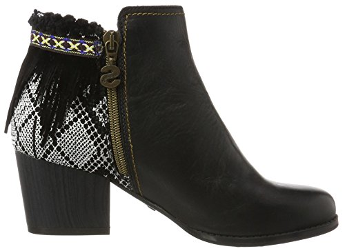 Exotic Chelsea Shoes Desigual Black Negro Botas Mujer para Country q667waB