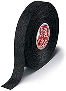 tesa 51608-00009-00 - Cinta Aislante de algodón (15 mm x 25 m), Color Negro: Amazon.es: Coche y moto