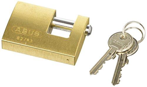 Monoblock Padlock - ABUS 11490 Monoblock Brass Shutter Padlock by ABUS KG