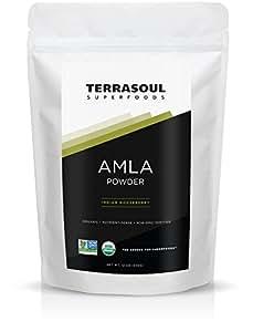Terrasoul Superfoods Amla Powder (Organic), 12 Ounce