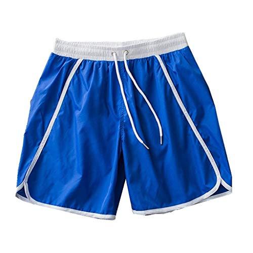 Shorts Fitness Vicgrey Casual Bagno Pantaloncini Spiaggia Running Asciugatura Costume Blu Rapida ❤ Da Estate Uomo AwOvaw