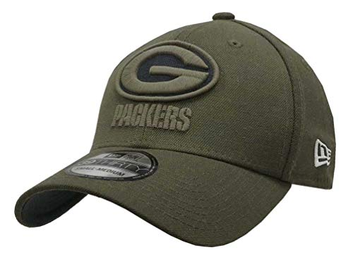 Cap Flex Hat (New Era Mens NFL 2018 Salute to Service 39Thirty Flex Fit Hat (Large/X-Large, Green Bay Packers))