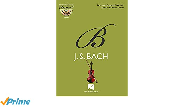 Violin Concerto in A Minor, BWV 1041: Amazon.es: Johann ...
