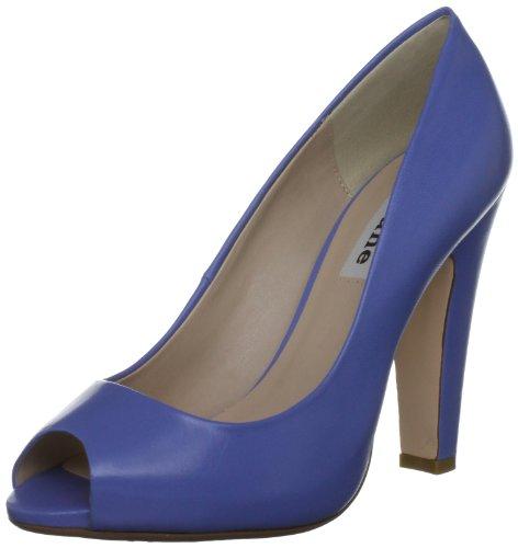 Dune Candid Di - Zapatos de Vestir de cuero mujer azul - Bleu (Blue)