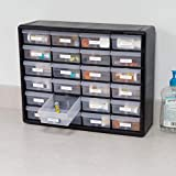 Akro-Mils 24 Drawer 10724, Plastic Parts Storage