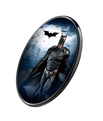 - CelfiDesign Official Merchandise of Batman Begins Fast Charge Ultra Slim Qi Wireless Charger for Qi Enabled Devices (Multicolor)