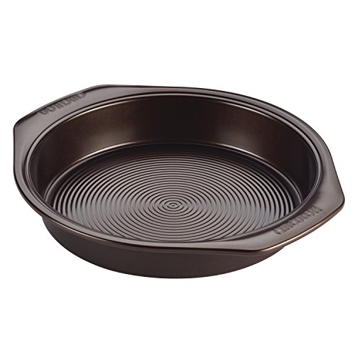 Circulon 46011 Nonstick Bakeware Nonstick Baking Pan / Nonstick Cake Pan, Round – 9 Inch, Brown