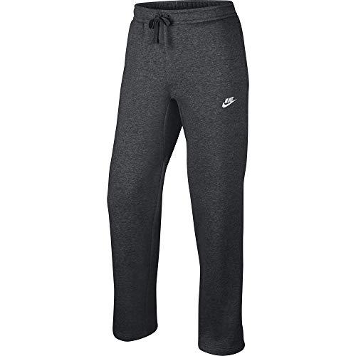 Men's Nike Sportswear Club Sweatpant, Fleece Sweatpants for Men with Pockets, Charcoal Heather/White, S by Nike (Image #4)