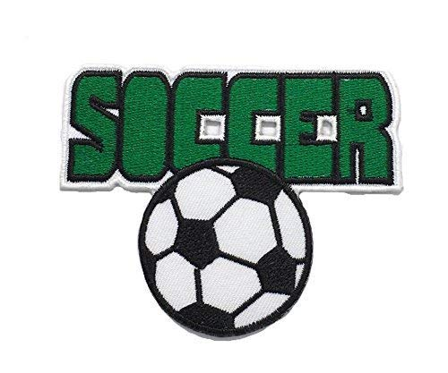 - Soccer Football DIY Fashion Applique Embroidered Sew Iron on Patch p#369
